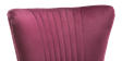 Lydia Accent Chair in Purple Velvet Image 3