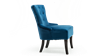 Reyna Accent Chair in Sapphire Blue Velvet Image 3
