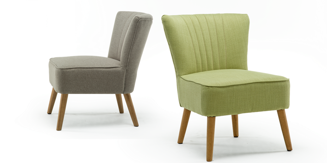 Annika Accent Chair in Pistachio Linen IMG