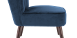 Aylenne Accent Chair in Midnight Blue Velvet Image 5