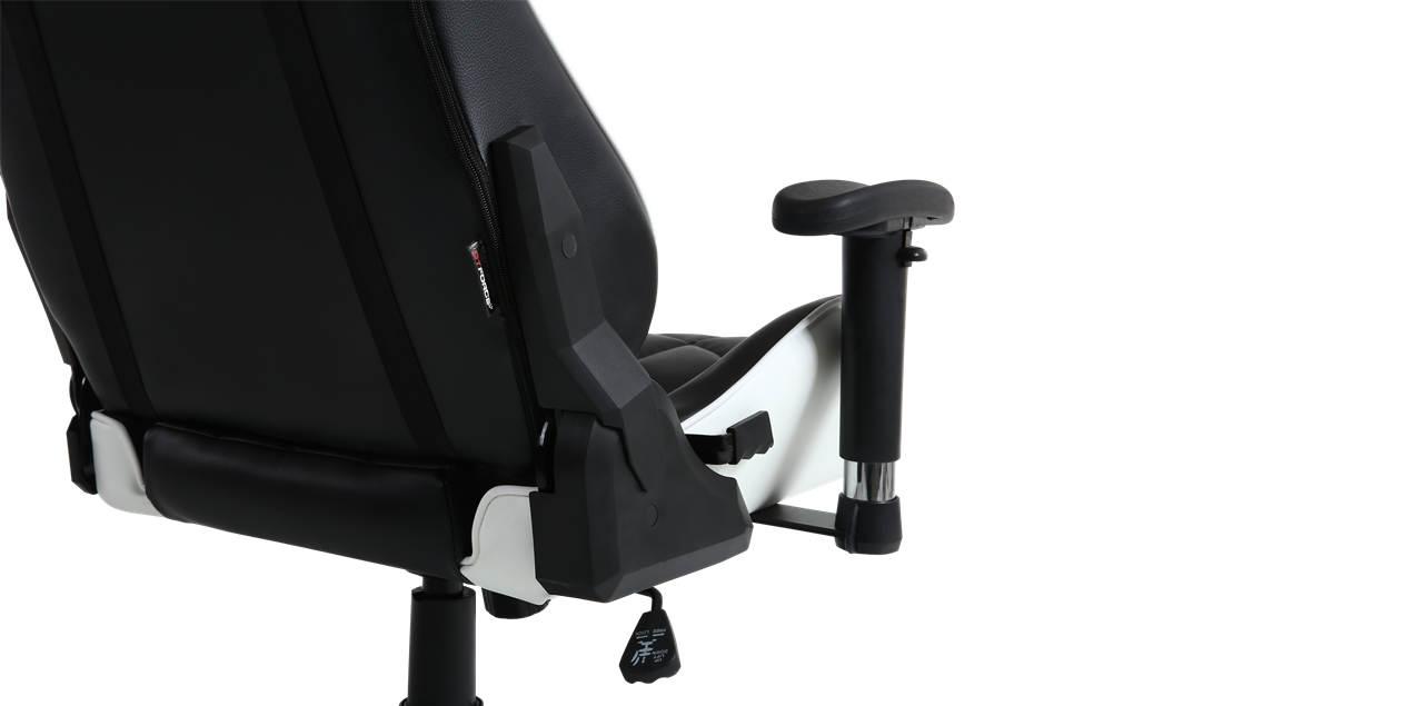 Gtforce Pro Gt Gaming Chair With Recline In Black White