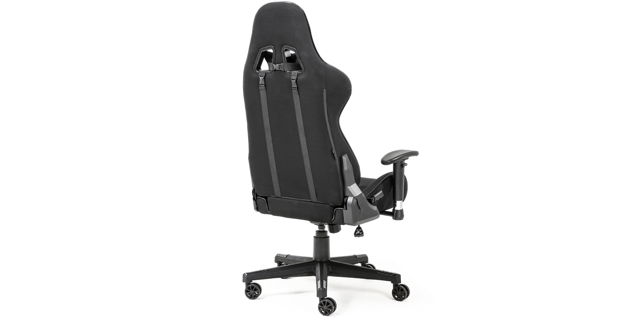 GTForce Evo CT Gaming Chair with Recline in Black IMG