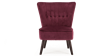 Aylenne Accent Chair in Purple Velvet Image 1