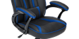 GTForce Roadster 1 Gaming Chair with Adjustable Lumbar Support in Black/Blue Image 5