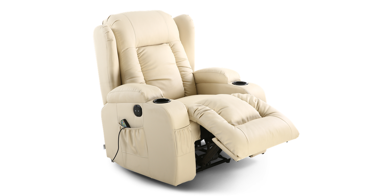 Rockingham Electric Recliner Chair With Massage And Heat