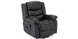 Cheshire Leather Rise Recliner Chair in Black Image 4