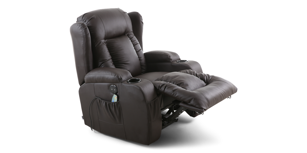 Peachy Leather Electric Recliner Beatyapartments Chair Design Images Beatyapartmentscom