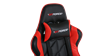 GTForce Pro GT Gaming Chair with Recline in Black and Red Image 2