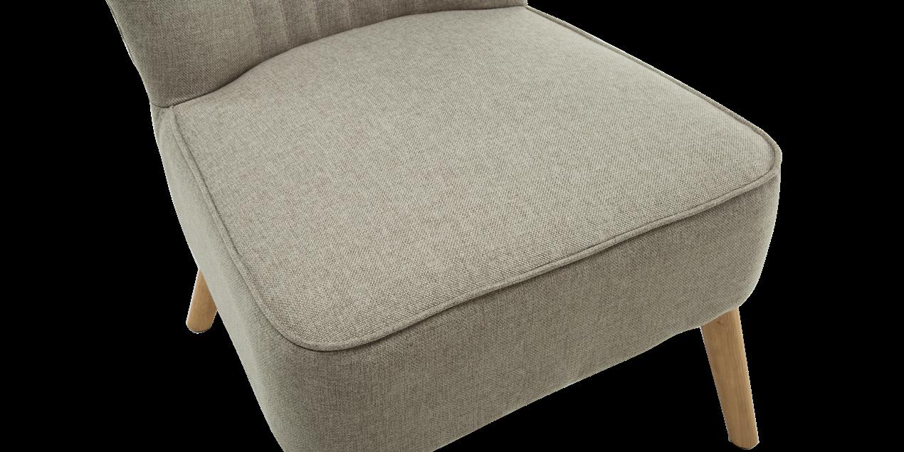 Annika Accent Chair In Pumice Linen