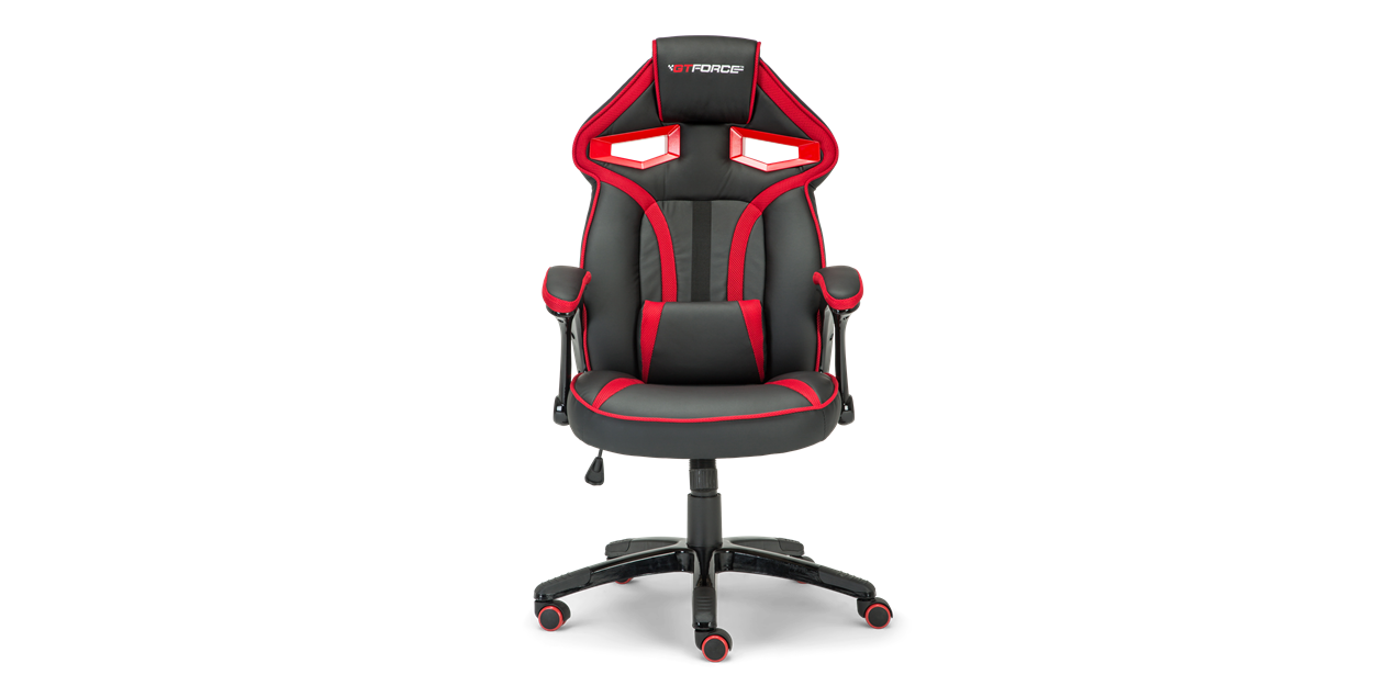 Roadster 1 Gaming Chair With Adjustable Lumbar Support In