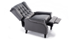 Ascott Recliner Armchair in Velvet Slate Grey 5