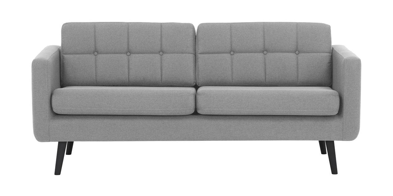 Super Brandon Linen 3 Seater Sofa In Grey Alphanode Cool Chair Designs And Ideas Alphanodeonline