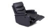 Ashley Manual Leather Recliner Chair in Black Image 3