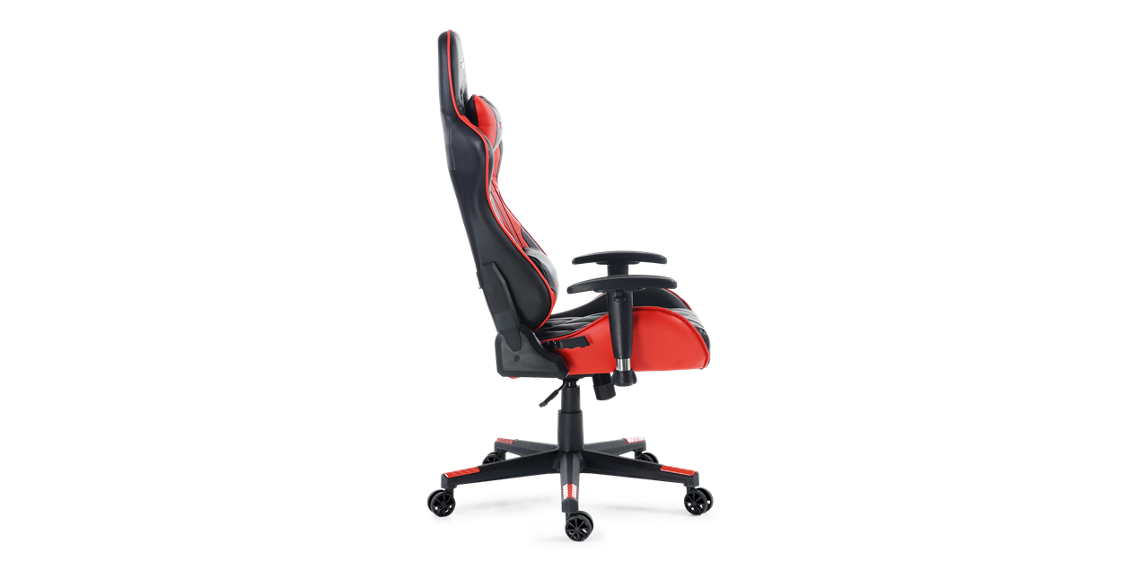 GTForce Pro GT Gaming Chair with Recline in Black and Red IMG