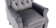 Ascott Recliner Armchair in Velvet Slate Grey 2