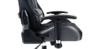 GTFORCE Pro GT Gaming Chair with Recline in Black and Grey Image 4