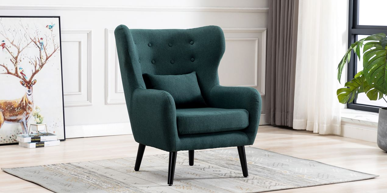 Winslow Accent Chair in Green IMG