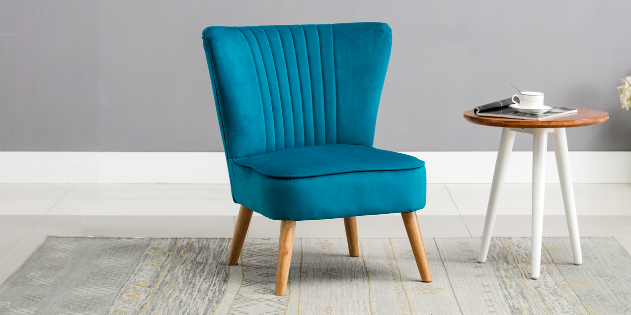 imports zoom teal shop asher back in pier with peacock detail chair