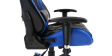 GTFORCE Pro GT Gaming Chair with Recline in Black and Blue Image 5