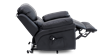 Richmond Rise Recliner Leather Chair in Black Image 4