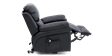 Richmond Rise Recliner Leather Chair in Black Image 3