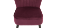 Aylenne Accent Chair in Purple Velvet Image 6