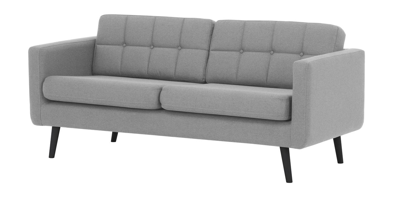 Fine Brandon Linen 3 Seater Sofa In Grey Alphanode Cool Chair Designs And Ideas Alphanodeonline