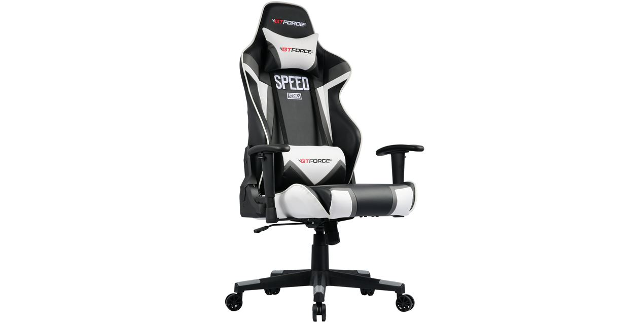 GTForce Speed FS Gaming Chair in Grey IMG
