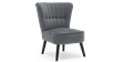 Aylenne Accent Chair in Grey Velvet Image 2