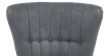 Aylenne Accent Chair in Grey Velvet Image 4