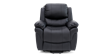 Richmond Rise Recliner Leather Chair in Black Image 1