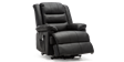 Wilson Dual Motor Rise Recliner Leather Chair in Black Image 2