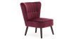 Aylenne Accent Chair in Purple Velvet Image 2