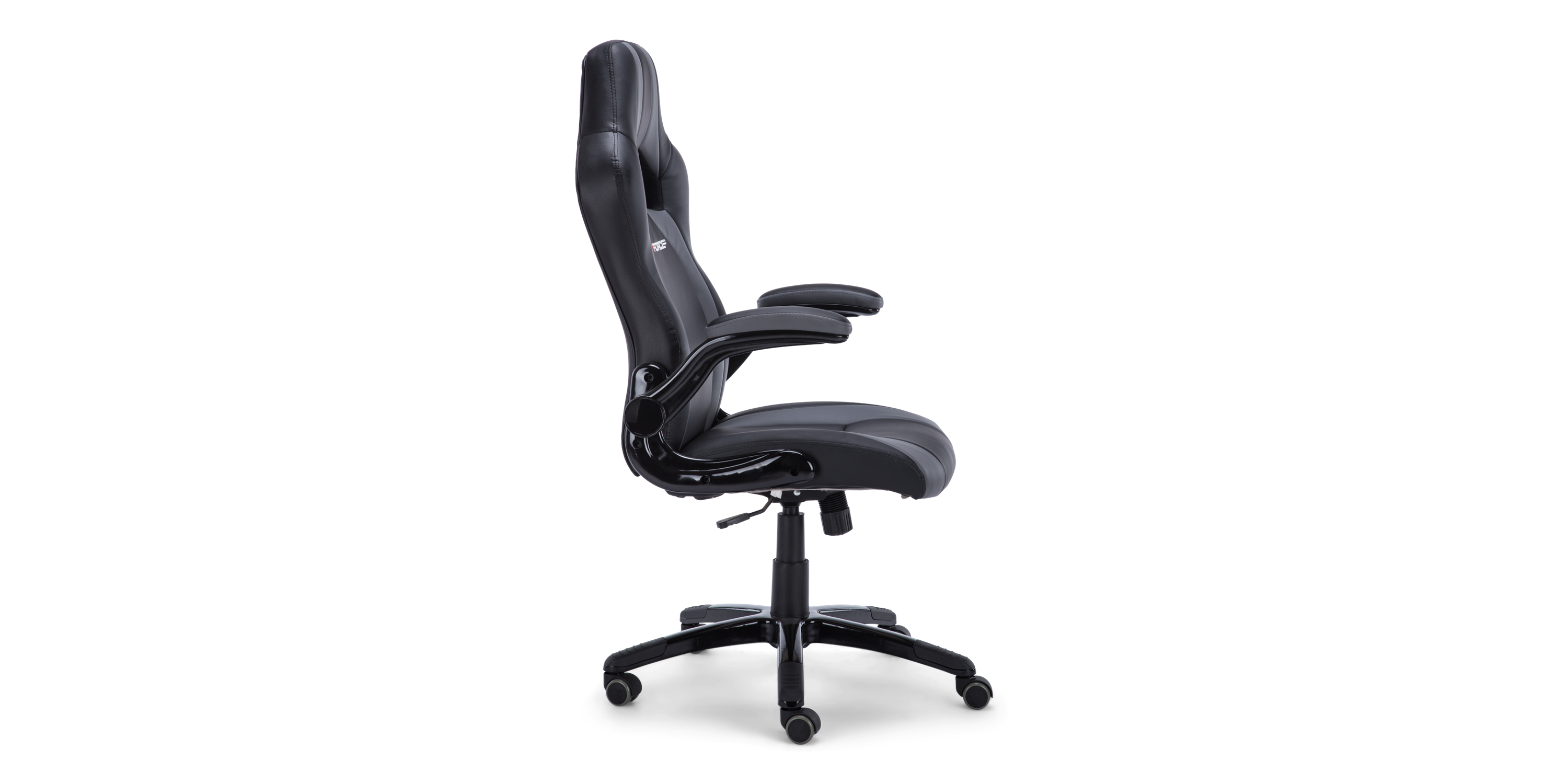 Roadster 2 Gaming Chair In Black Gray