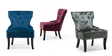 Reyna Accent Chair in Sapphire Blue Velvet Image 7
