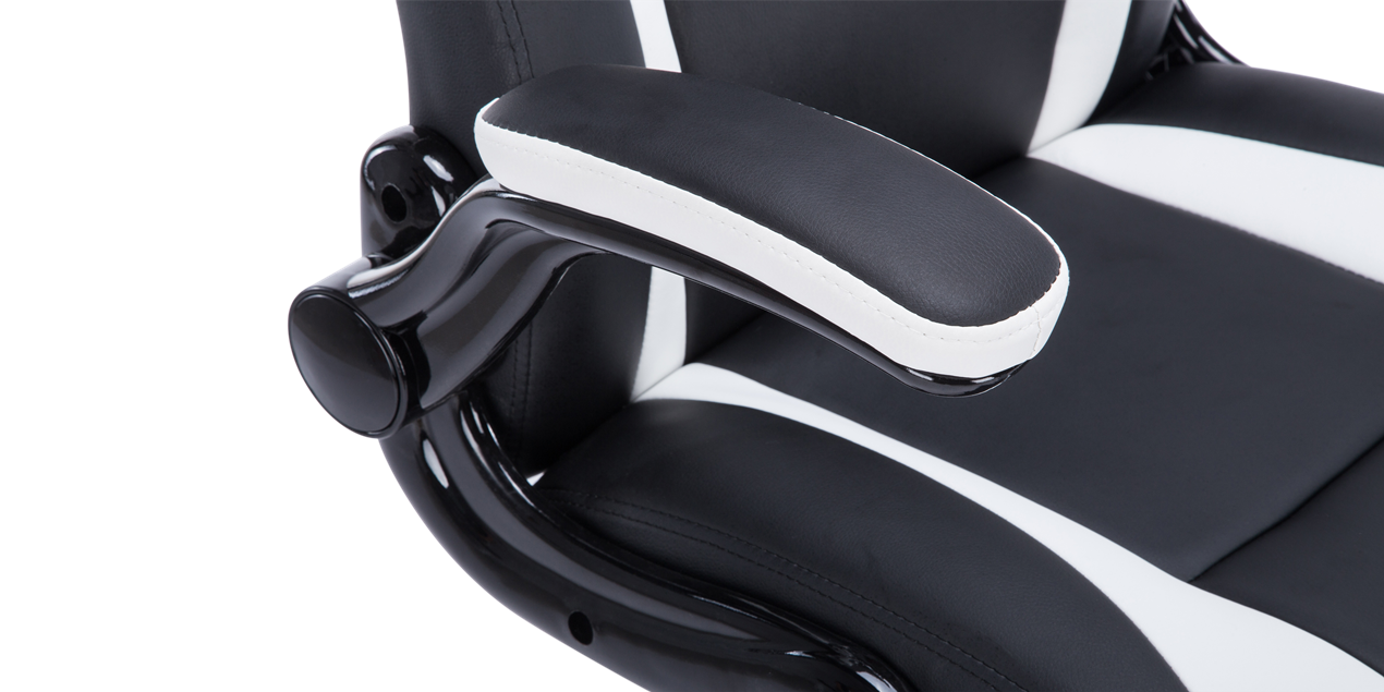 Roadster 2 Gaming Chair In Black White
