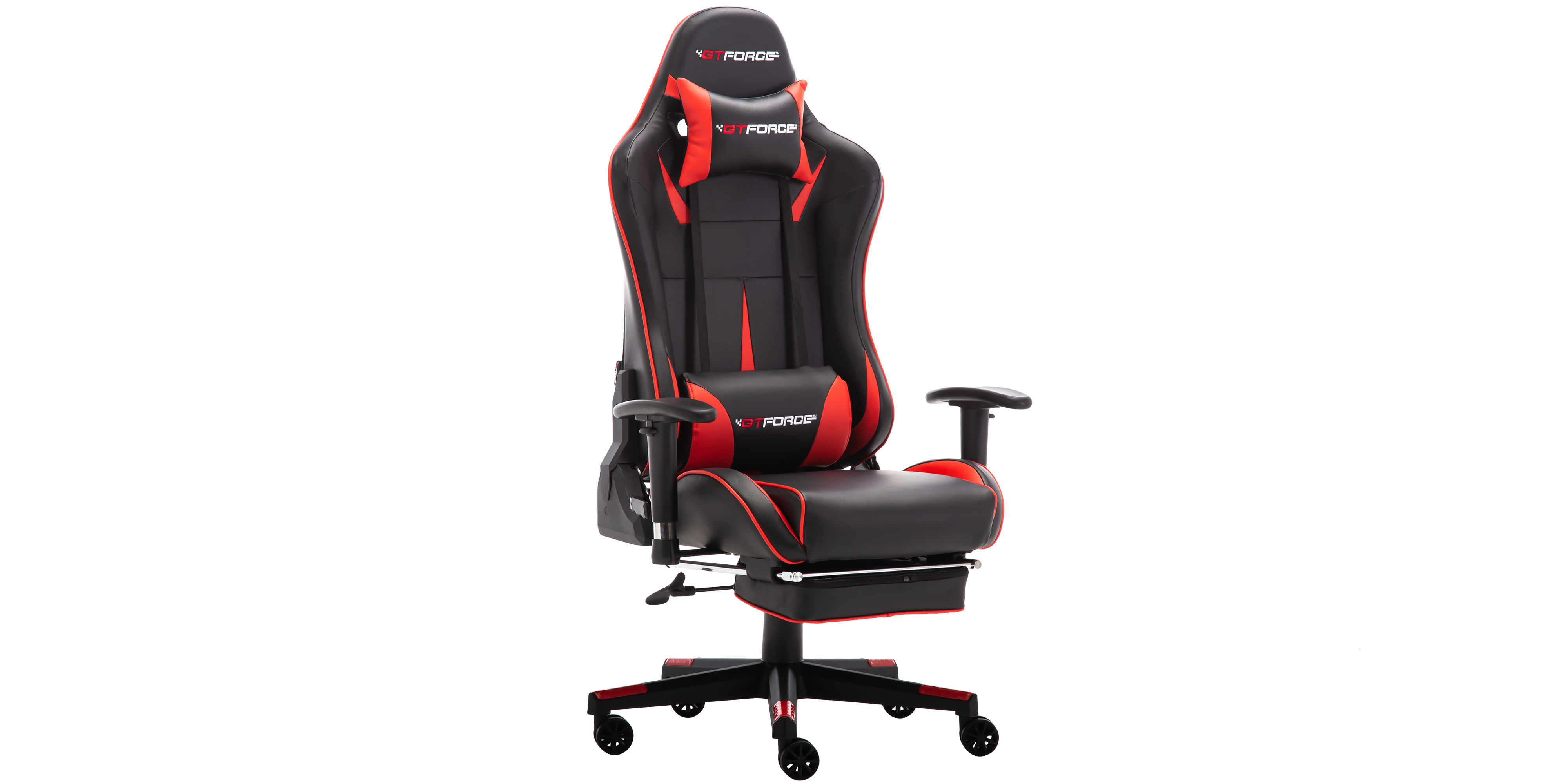 Gtforce Formula Rx Gaming Chair With Recline And Footrest